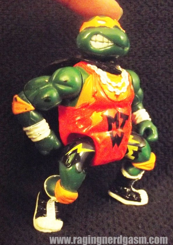 Pro Wrestling Michelangelo from Teenage Mutant Ninja Turtles by Playmates
