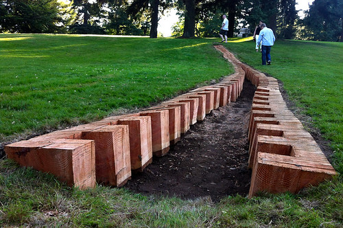 Earth art exhibition at VanDusen Gardens - Urs-P. Twellmann