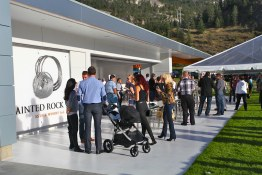 Launch of the new tasting room at Painted Rock Estate Winery
