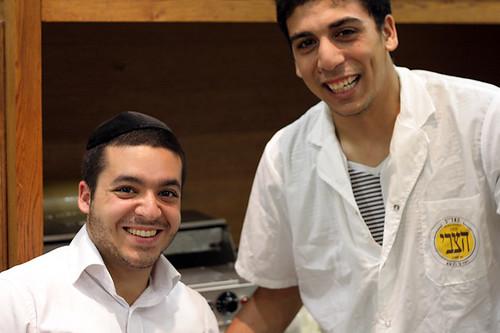 bakery workers in Tel Aviv