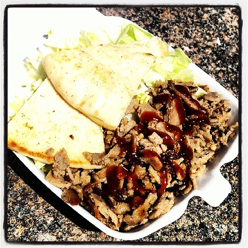 Small Lamb and Rice at the Chicken & Rice Guys