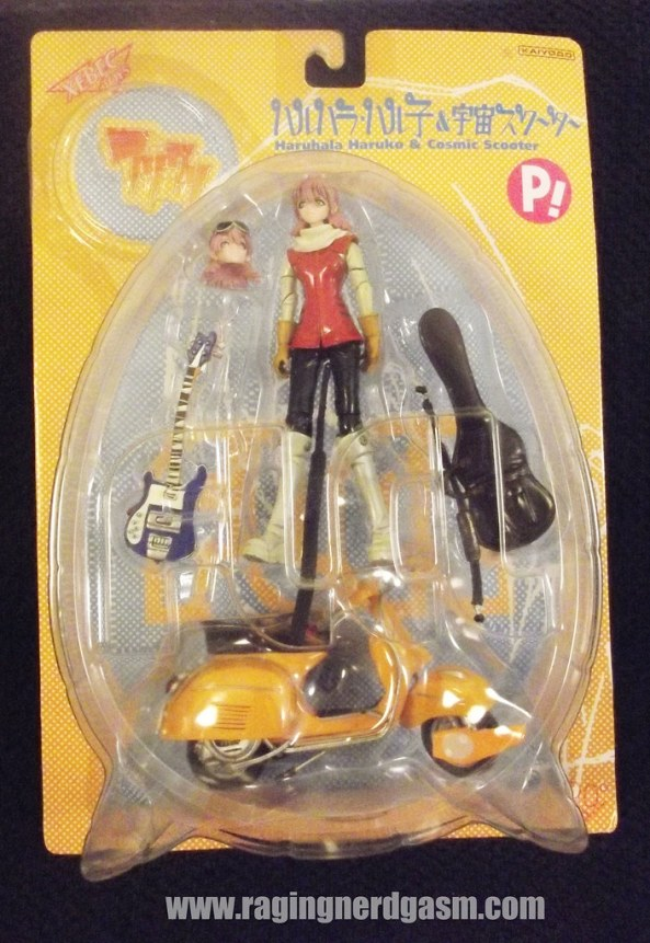 FLCL Haruko Figure with Scooter and Guitar
