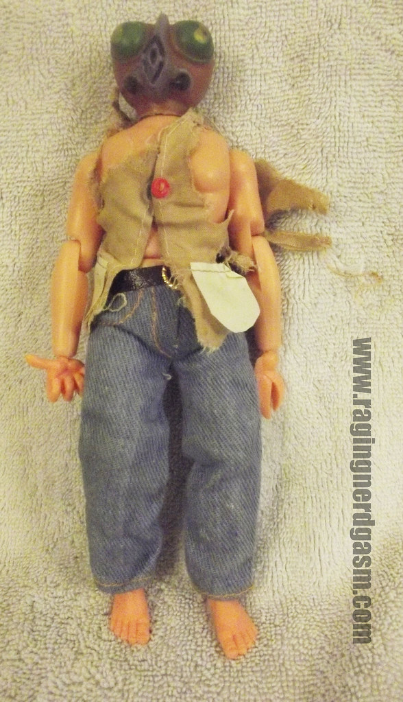 """Tomland monsters and aliens """"the Fly"""" action figure"""