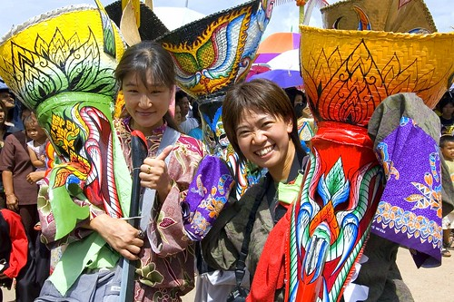 Student backpackers will surely have fun immersing in local festivals