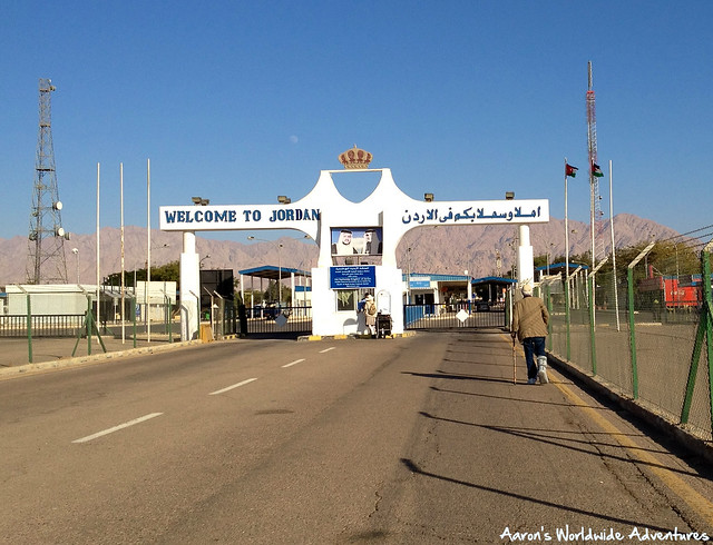 Aqaba Border Crossing--Welcome to Jordan
