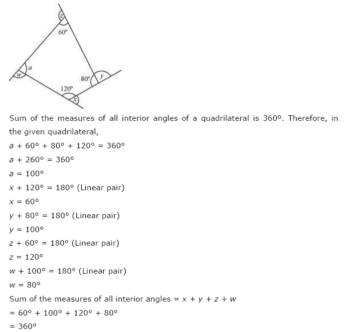 NCERT Solutions for Class 8th Maths Chapter 3 Understanding Quadrilaterals