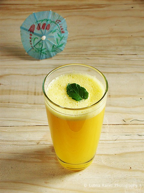 Orange Flavoured Pineapple Spritzer