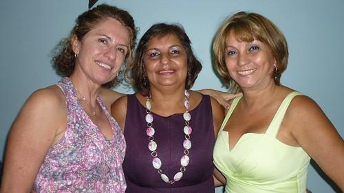 Darenice Dantas, Rosemary Fonseca e Francimary Leao