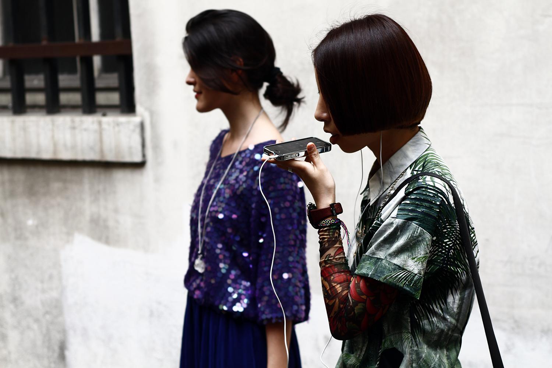 2012_06 Tuukka Laurila Paris Mens Fashion Week Street Style - Jungle Prints Blocking on iPhone2