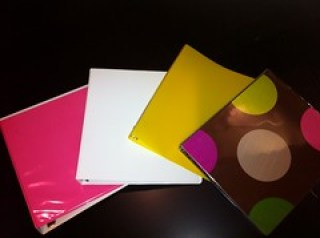 vinyl notebooks