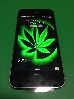 102_iPhone5Sのフロントパネル液晶割れ