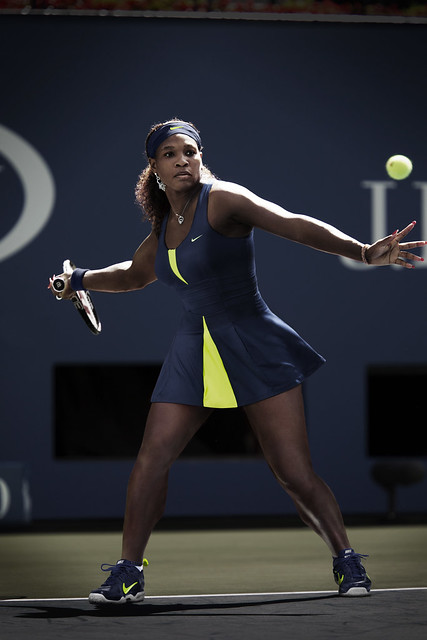 Serena Williams US Open dress - night