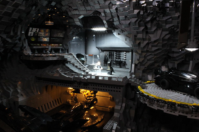 8075004851 5477519a5c z The Bat Cave Built From 20,000 Lego Parts