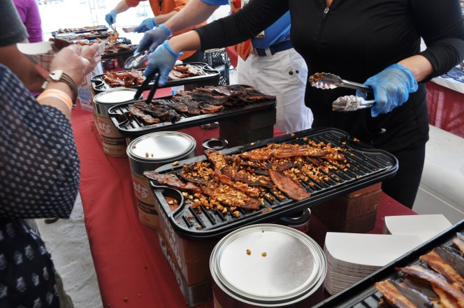 Bacon Bar by Datz of Tampa - Clearwater Beach Uncorked Food, Wine & Beer Festival, Feb. 7, 2015