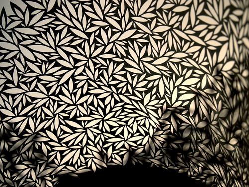 Paper Cut Vessel - detail