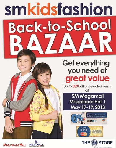 SM KIDS FASHION Back to School Bazaar