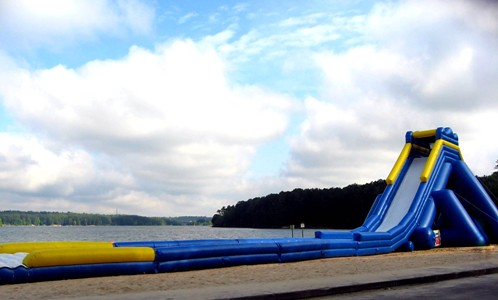 Worlds Largest Inflatable Water Slide Returns to Dallas Landing Park