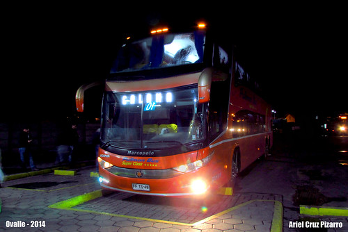 Pullman Bus - Ovalle (Chile) - Marcopolo Paradiso 1800 DD G7 / Scania (FFTS48)