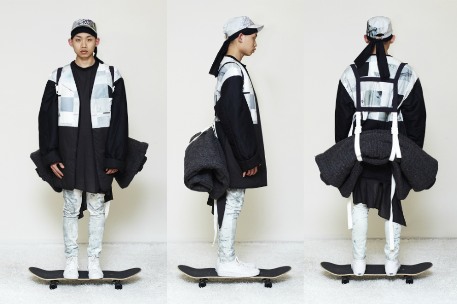 Jino Lee is a young up-and-coming menswear designer based in Antwerp 2