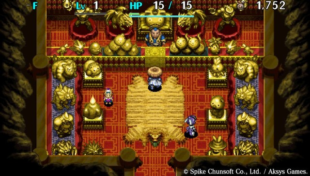 Shiren The Wanderer: The Tower of Fortune and the Dice of Fate, PS Vita