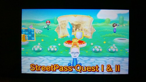 New Plaza design on Nintendo 3DS