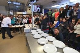 Setting up the plates at Black Box