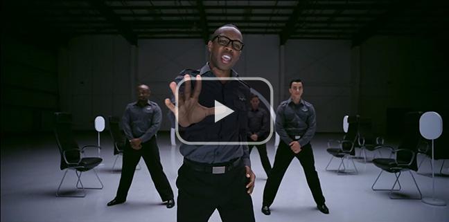 Virgin America's safety dance video.