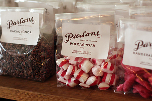 Swedish peppermints at Pärlans Confectionary/Konfektyr