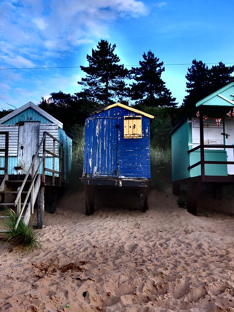 Sheds by the sea