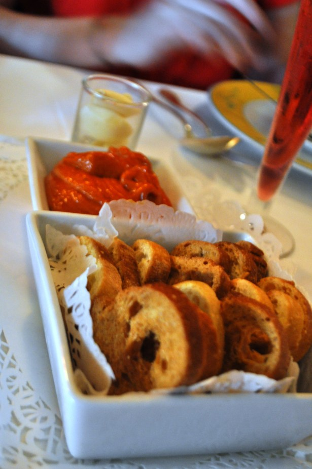 Tomato Paste, Garlic and Bread to Add to Your Bouillabaisse.