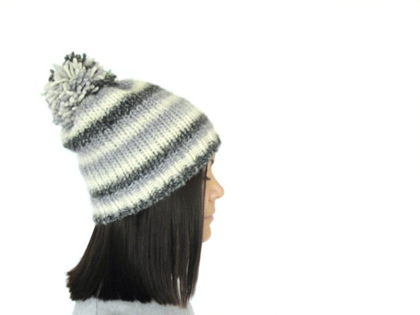 pompom hat: Nightcloud by Mimi Hill for Eskimimi Makes - free to download PDF