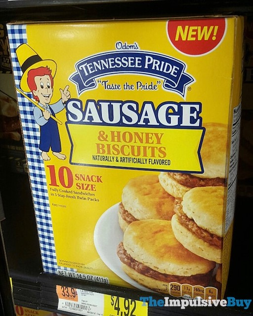 Odom's Tennessee Pride Sausage & Honey Biscuits