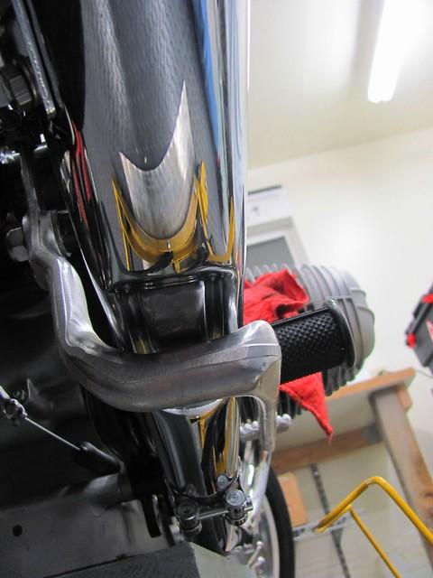 Muffer Cutout for Brake Pedal