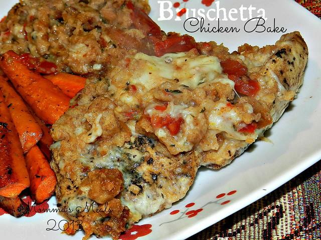 Bruchetta Chicken Casserole (6)