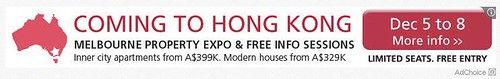 Australian property developer advertising to Hong Kong investors