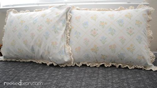 Crocheted Pillow Shams