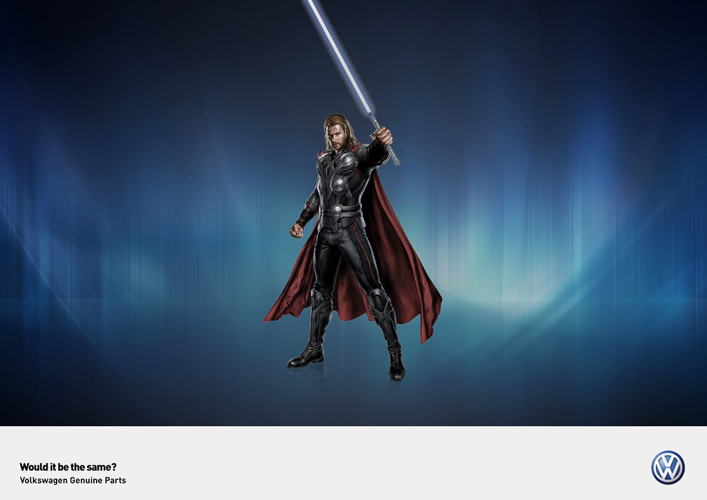 Volkswagen Genuine Parts - Would it be the same? Thor Jedi