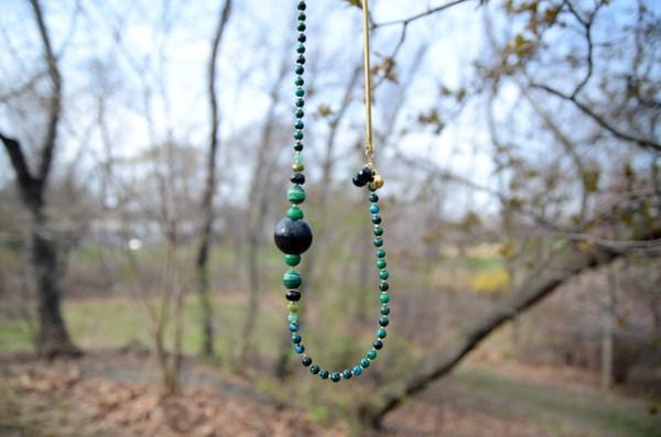 DIY Malachite Necklace