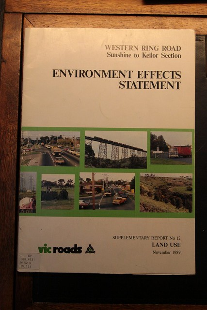 Environmental Effects Statement for the Western Ring Road