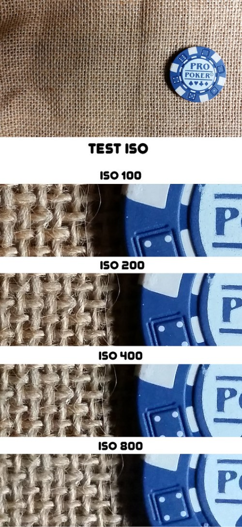 Samsung Galaxy S5 - test ISO
