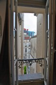 A.M. | The Marais (with peekaboo Pompidou Centre) | Paris, France | 9:00am