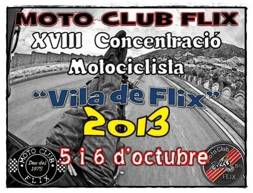 XVII Concentracion Motociclista Vila de Flix