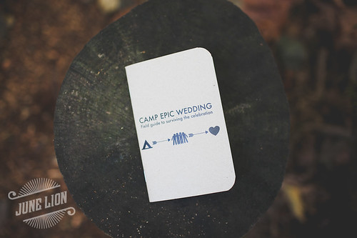 Beth + Garrett's Camp Epic Wedding