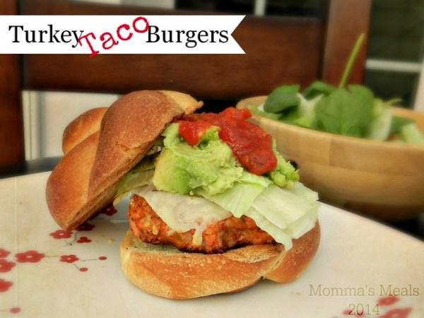 Taco Turkey Burger (1)