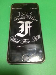 99_iPhone6のフロントパネル液晶割れ