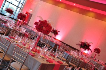 Custom Lighting by M & P Floral and Event Production
