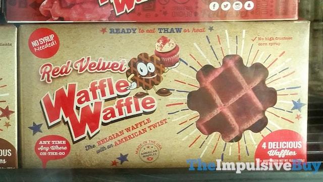 Red Velvet WaffleWaffle