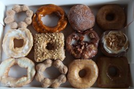 A Selection of Lucky's Doughnuts