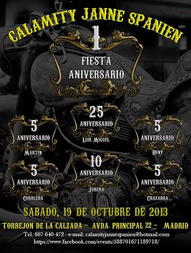 1ª Fiesta Aniv. Calamity Jane Spanien - Torrejon de la Calzada