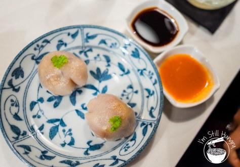 BBQ duck dumplings, love on top potts point